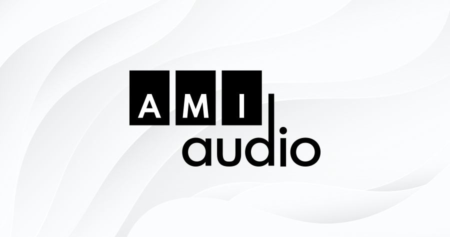The AMI-audio logo.