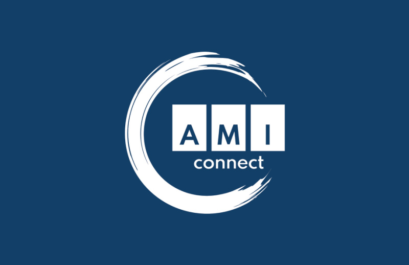 The AMI Connect logo